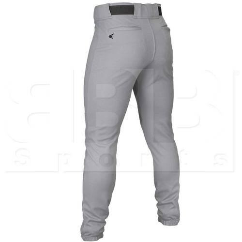 TAPERY-GR-XL Easton Taper Baseball Pant Youth Grey