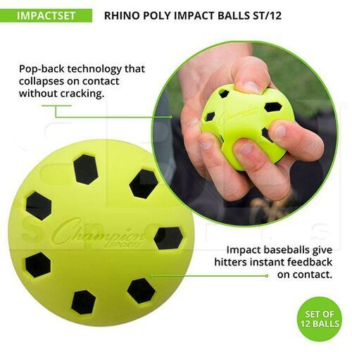 IMPACTSET Champion Poly Impact Ball Set