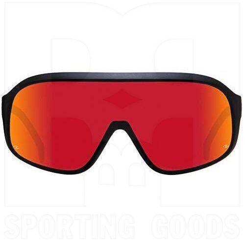 ZZ-EY-PL-SKY-BK-RD Zol Polarized Sky Sport UV Protection Sunglasses Black w/ Red Lens