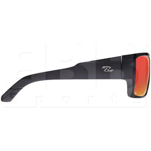 ZZ-EY-PL-HOT-BK-RD Zol Hot Polarized Sport UV Protection Sunglasses Black w/ Red Lens