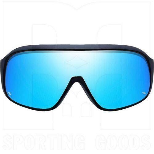 ZZ-EY-PL-SKY-BK-BL Zol Polarized Sky Sport UV Protection Sunglasses Black w/ Blue Lens