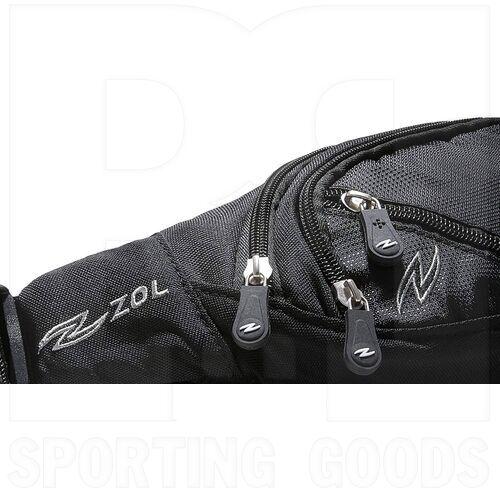 ZZ-BG-WB-XS-BK-BL Zol Waist Bag Black w/ Blue XS