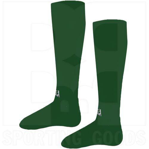 BSKDG-S BBB Sports Professional Athletic OTC Knee Length Socks Pair Dark Green
