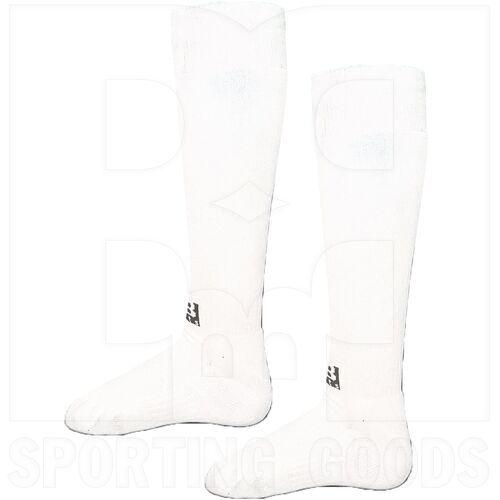BSKWH-S BBB Sports Professional Athletic OTC Knee Length Socks Pair White