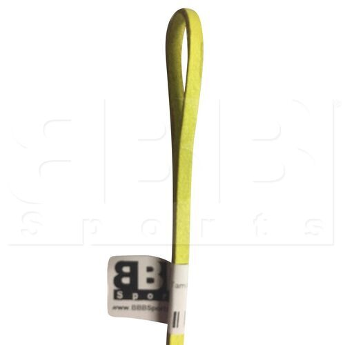 """554 BBB Sports Softball/Baseball Leather Glove Repair Lace 72"""" Length w/ 1/4"""" Thickness Neon Yellow"""