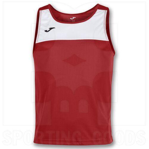 101033.602.2XL Joma Sleeveless Race Singlet White/Red