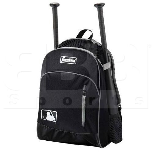 23396C1 Franklin Sports Youth Softball/Baseball Bat-pack Black/Grey