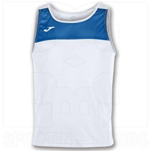 101033.207.L Joma Sleeveless Race Singlet White/Royal
