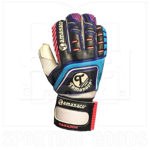 CAZADORBBP06 Tamanaco Goalkeeper Glove Fingersave Black/ Blue/ Pink