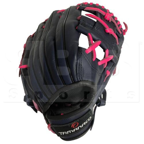 """ST1152-NP Tamanaco ST-Series Natural Leather Infield Glove 11.5"""" Navy/Pink RHT"""