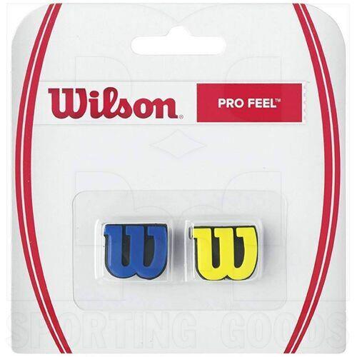 Z5377 Wilson Pro Feel Dampener Royal/Yellow