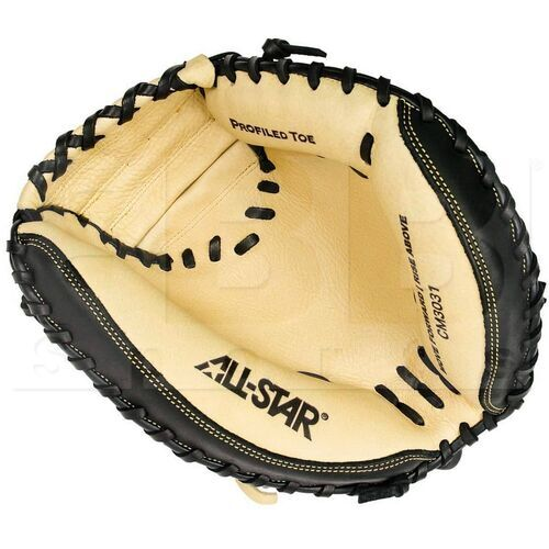 "CM3031 All-Star Catcher's Mitt 33.5"" Cream/Black"