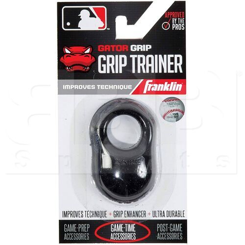 24052C1 Franklin Sports MLB Gator Baseball Sting Vibration Reducer Shok Sorb Bat Grip Black
