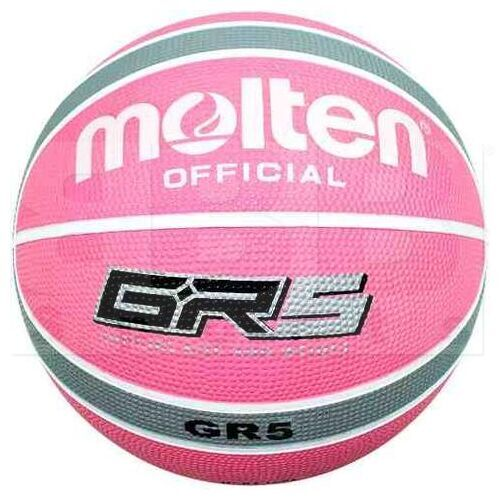 "GR5-WPS Molten GR5 Indoor/Outdoor Rubber Basketball FIBA Approved Size 5 (27.5"")"