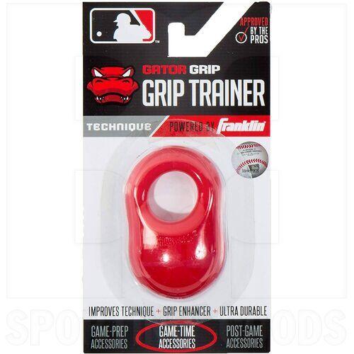 24052C4 Franklin Sports MLB Gator Baseball Sting Vibration Reducer Shok Sorb Bat Grip Red