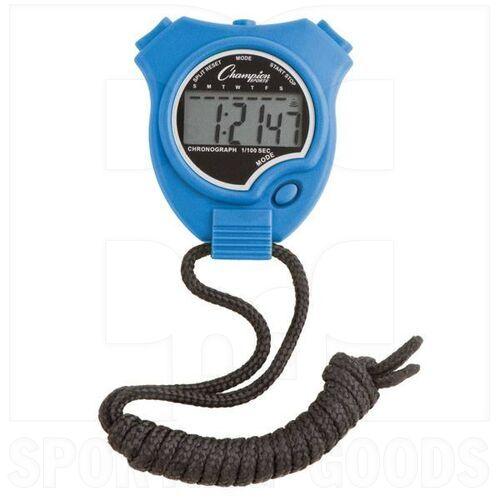 910BL Champion Sports Stopwatch Blue