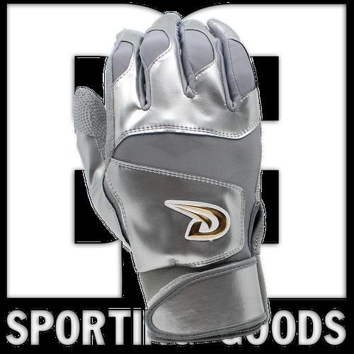 BG2814XXL Dux Sports Baseball/Softball  Batting Gloves Future Collection Grey