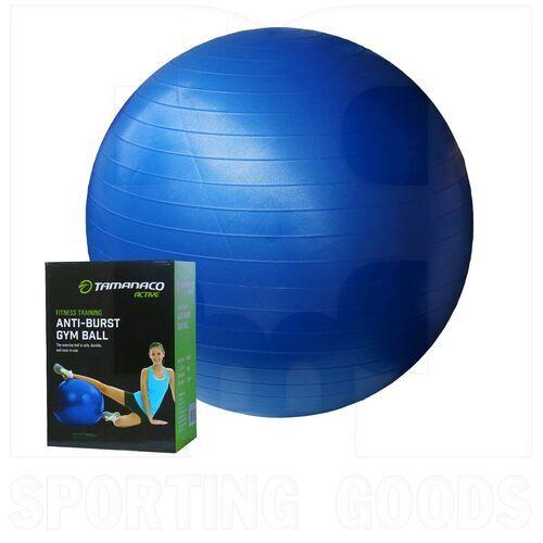 IR97403BLUE-45CM Tamanaco Fitness Anti-Burst Gym Ball w/Pump 45 cm Blue