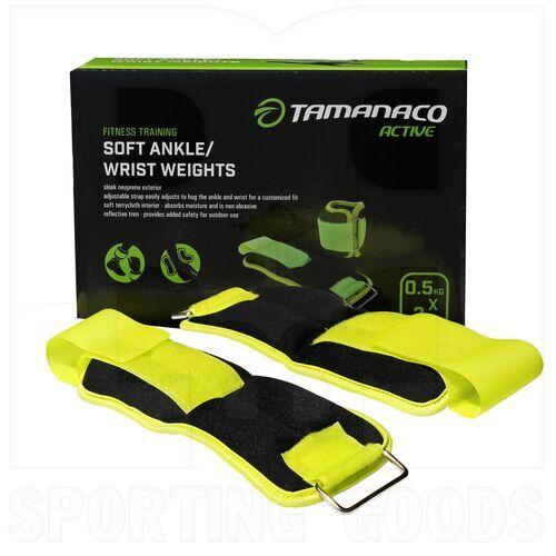 IR97811-0.5KGS Tamanaco Soft Ankle Wrist Weight 0.5 Kg / 1.1 Lbs (Pair)