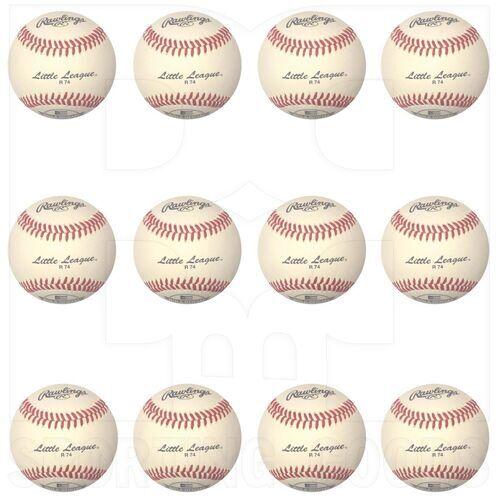 "R74 Rawlings Little League Baseball 9"" Dozen"