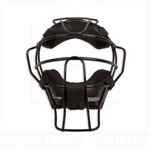 BM200BK Champion Facemask Black 18 oz