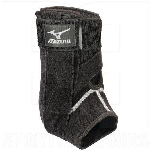 480110.9090.M Mizuno DXS2 Left Ankle Brace Black