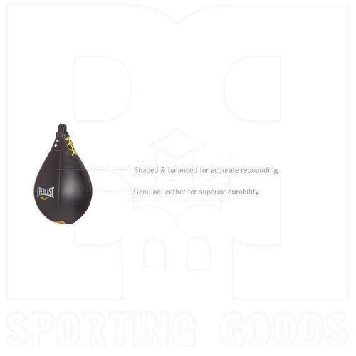 """4241 Everlast Leather Speed Bag 9"""""""