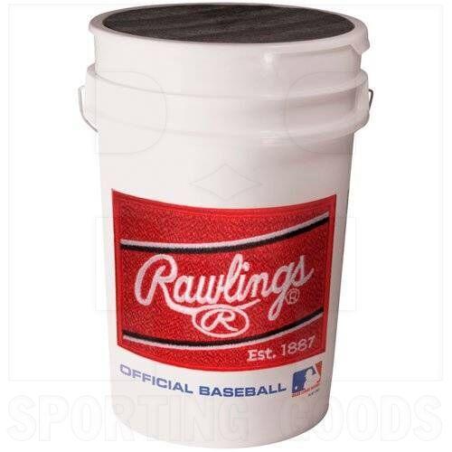BUCKET Rawlings Baseball Bucket for Game or Practice Balls