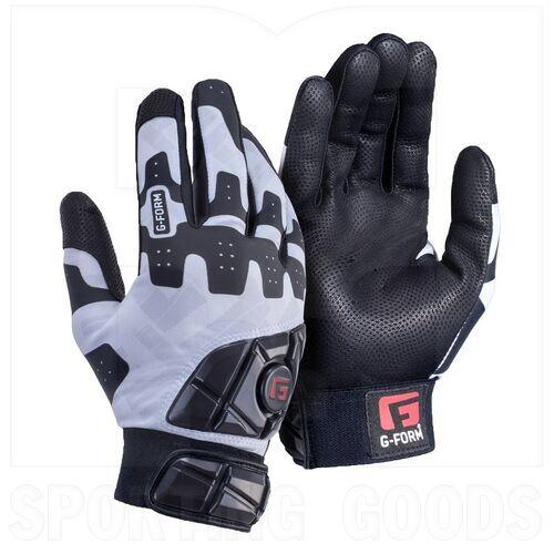 GB0102356 G-Form Adult Pro Batter's Padded Batting Glove White/Black