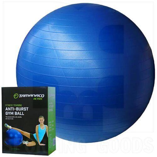 IR97403BLUE-55CM Tamanaco Fitness Anti-Burst Gym Ball w/Pump 55 cm Blue
